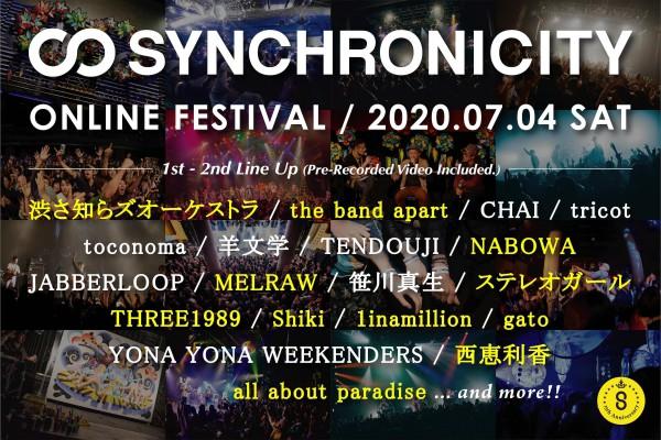 synchronicity_onlinefest_2ndlineup_3000